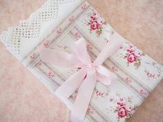 Something Old, Something New - Pretty by Hand - Pretty By Hand  Such pretty pillowcases and she used recovered lace!