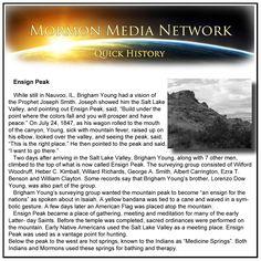 MormonMediaNetwork.com -  Ensign Peak