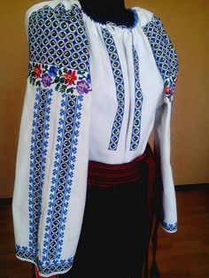 Ukraine, from Iryna Ethnic Fashion, Womens Fashion, Ukrainian Dress, Advanced Style, Cross Stitch Flowers, Boho Outfits, Ukraine, Embroidery, Costume