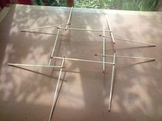 a non-round reciprocal frame roof