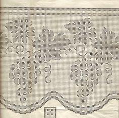 Gallery.ru / Fotografia # 136 - Filet Crochet versare Point de Croix 2 - Mongia