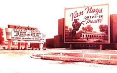 Van Nuys Drive-In, like most of the drive-in theaters, are a thing of the past; however, there are still a couple of them operating where I live near Salt Lake City, Utah--Lucky me!
