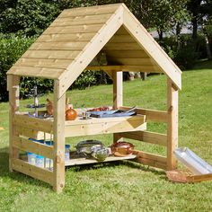Wooden Mud Kitchen House