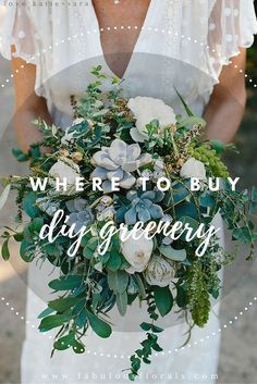 Wedding Trends 2018 DIY Wedding Flower Packages Buy Easy Complete DIY bouquet Boutonniere Centerpiece Flower packages online How to make a wedding bouquet DIY wedding bouquet tutorials and instructions Wedding Flower Packages, Wedding Flower Guide, Diy Wedding Bouquet, Diy Bouquet, Floral Wedding, Wedding Greenery, How To Diy Wedding Flowers, Greenery For Bouquets, Flower Bouquets