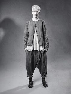 Basic Wardrobe Pieces, Dark Mori, Mori Girl Fashion, Drop Crotch Pants, Quirky Fashion, Dark Side, Beautiful Outfits, Beautiful Clothes, Tokyo Fashion