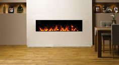 Newest Photographs small Fireplace Inserts Concepts Planning to add a comfortable effect to your residence? Take into consideration getting a fireplace that will . Contemporary Electric Fireplace, Electric Fireplace Insert, Small Fireplace, Fireplace Design, Fireplace Modern, Fireplace Ideas, Foyer Propane, Inset Electric Fires, Guest Bedroom Office