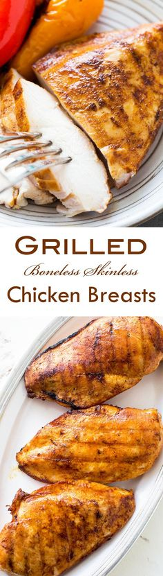 grill time boneless chicken breast