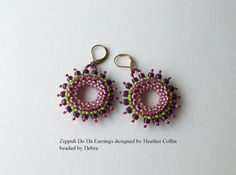 BOXING DAY SALE!!! Starts tomorrow Dec. 26 2014 for oNe Day onLy!!!Use coupon code BOXDAY50 for 50% off selected items. Minimum purchase $3.00  DatzKatz beaded Zippidi Do Da earrings designed by by DatzKatz
