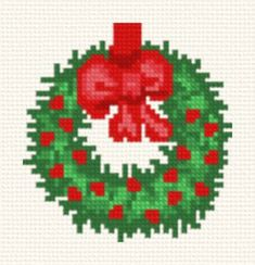 easy christmas cross stitch pattern - Google Search