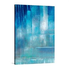 Do you like this United Artworks Blue Cool - Hand Painted Artwork