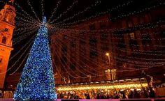 Budapest, Christmas Lights, Tower, Building, Travel, Google, Christmas Fairy Lights, Rook, Viajes