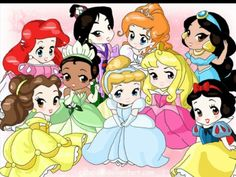 So cute and on the next baby disney princess picture my face will be on it