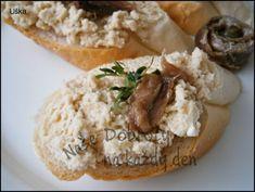 Očková pomazánka na jednohubky - Naše Dobroty na každý den Baked Potato, Camembert Cheese, Potatoes, Baking, Ethnic Recipes, Food, Bakken, Eten, Bread