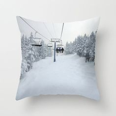 Chair Lift, Pillow Cover, 16x16, 18x18 or 20x20 by BACK to BASICS