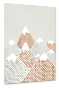 Berge Beton und Holz