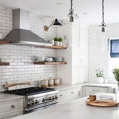 Happy vibes all around with our Cubs win and this bright & sunny kitchen we just finished! Residential Interior Design, Interior Design Studio, Kitchen Reno, Kitchen Cabinets, Kitchen Ideas, Open Shelving, Kitchen Interior, Scandinavian Design, Cubs Win