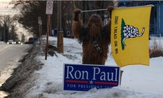 Vote for Ron Paul or you'll have the Wookies against you  This is from the last election, but I think we can safely assume that the Wookies are still pretty pro-Paul. They seem like fairly steadfast creatures…
