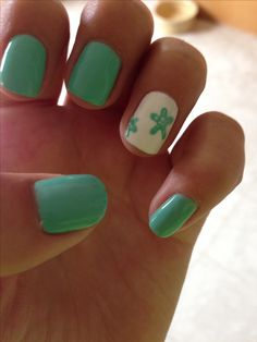 starfish nails ❤️