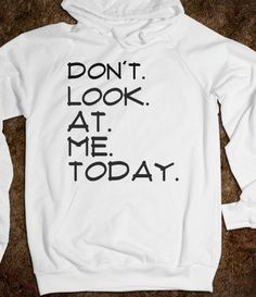 I want this!  Perfect for Monday morning classes.