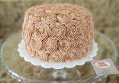 Nutella buttercream cake. Que Ricos queques artesanales.