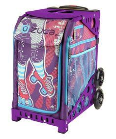 ZÜCA Purple & Pink Roller Girl 18 Rolling Luggage | zulily