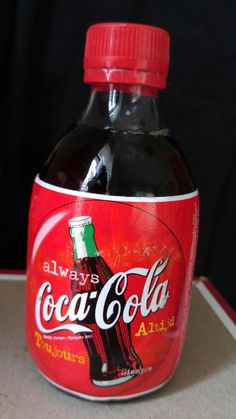 1997 Stubby Coca Cola Bottle