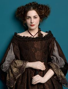 Amira Casar as Béatrice de Lorraine in Versailles (TV Series, 2015). (1 July 1662–9 February 1738)