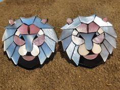 Hey, I found this really awesome Etsy listing at https://www.etsy.com/listing/259182384/lea-stein-earrings-lion-head-french