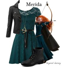 """Merida"" by beyond-disney on Polyvore"