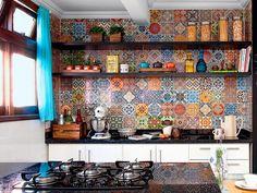 Dez ideias para renovar a cozinha gastando quase nada