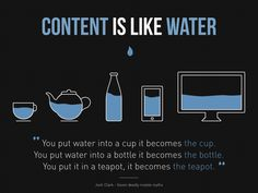 Responsive design - Content Is Like Water - #responsivedesign