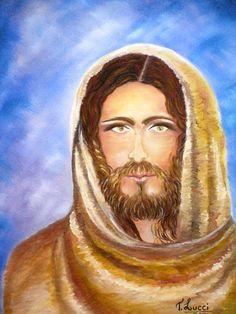 Quadro � �leo - Jesus