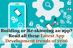 Know All the Latest App Development Trends of 2016 Before you Develop an App Latest Technology, Technology News, Year 2016, App Development, Trends, Reading, Logos, Word Reading, Logo