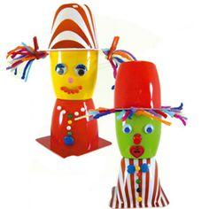 Διακοσμητικοί Κλόουν από Κεσεδάκια : kidsfun.gr