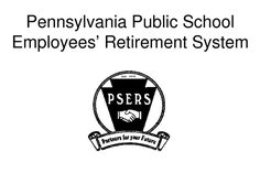 Public School Employees' Retirement System (PSERS), pension
