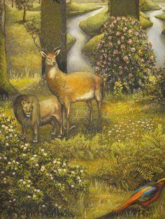 "Julia Bobrisheva "" Paradise Garden"" ( fragment)"