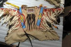 Exquisite Nez Perce Shirt, Nez Perce Museum, Spalding, Idaho