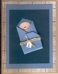 By Pumpkinhead-Congratulations/Baby Card - Two Peas in a Bucket Baby Congratulations Card, Baby Shower Invitaciones, New Baby Cards, Paper Cards, Kids Cards, Cute Cards, Creative Cards, Scrapbook Cards, Baby Boy Scrapbook