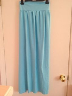 DIY maxi skirt with fold over waist band - MADE IT, LIKED IT