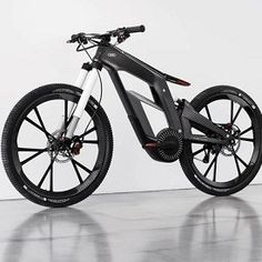 Amazing Audi e-Bike Has Segway-Like Wheelie Mode, Locks via Phone.