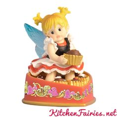 Naughty Nibbler Fairie - From Series Thirty Eight of the My Little Kitchen Fairies collection