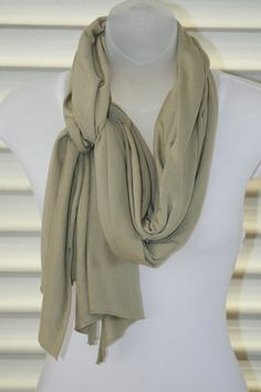 Simple Scarf by Bazotic by BAZOTIC on Etsy