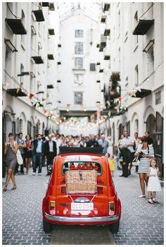 antwerps DIY feest in rood en wit // www.lovelyday.be