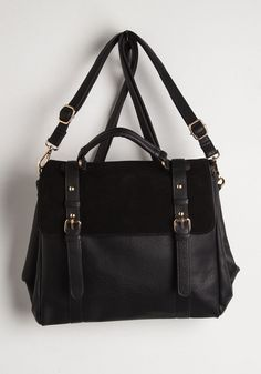 Stop, Rock and Roll Convertible Bag. Can we all pause for a moment to appreciate the utter awesomeness of this rocker-chic bag? #black #modcloth