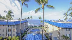 Kona Reef Resort oceanfront destination features its own swimming pool, party pavilion and barbeque area.#Kona #Hawaii #DiamondResorts #tmom