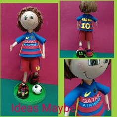 Fofucha futbolista del Barsa