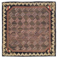 1stdibs.com | American Hooked Rug, soft and very hypnotic