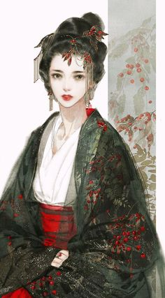 38 ideas Chinese art girl Asian beauty drawings for 2019 - Gesunde Chinese Drawings, Art Drawings, Des Femmes D Gitanes, Japonese Girl, Art Chinois, Art Asiatique, China Art, China China, Hanfu