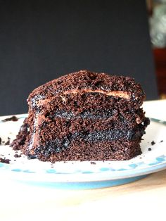 Carob Brooklyn Blackout Cake  The BEST cake you will ever eat!