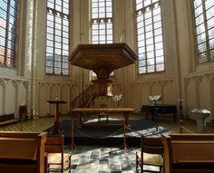 Abteikirche in Middelburg auf Walcheren
